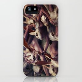 Go forward and forward iPhone Case