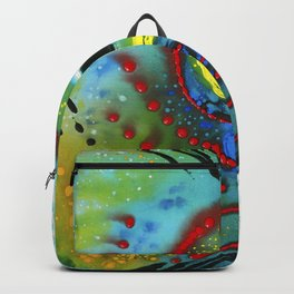 Tropical Fish - Colorful Beach Art By Sharon Cummings Backpack