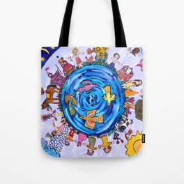 We are all one being Tote Bag
