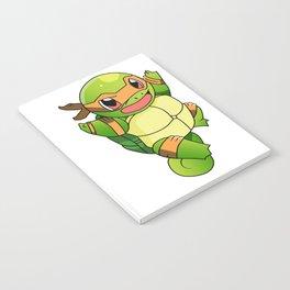 TMNT_POKET_MONSTER_orange Notebook