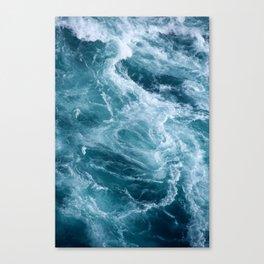 Ocean Storm | Classic Blue | Landscape Photography | Beach Canvas Print