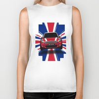 uk Biker Tanks featuring UK Cooper by McGrathDesigns