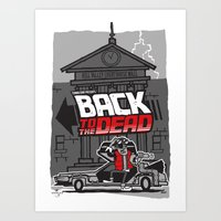 BACK to the DEAD Art Print