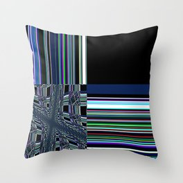 Re-Created Southern Cross XVIII by Robert S. Lee Throw Pillow