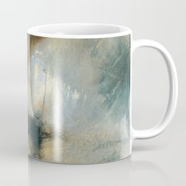 """J.M.W. Turner """"Snow Storm - Steam-Boat off a Harbour's Mouth"""" Coffee Mug"""