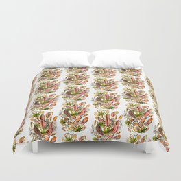 Ernst Haeckel Nepenthaceae Pitcher Plant Duvet Cover