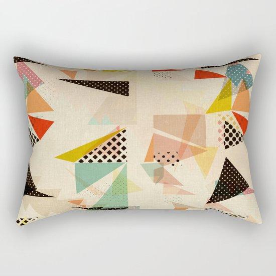 between shapes Rectangular Pillow