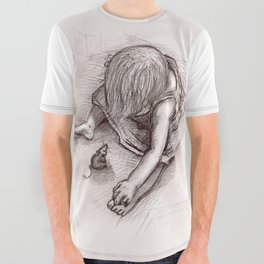 Ruby and the Rat All Over Graphic Tee