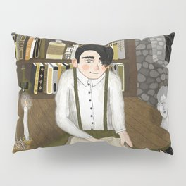 october library Pillow Sham