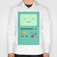 bmo Hoodies featuring BMO 2 by skyetaylorrr