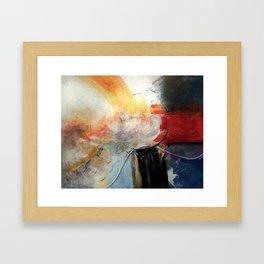 A Piece of Time Framed Art Print