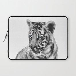 Baby tiger cub pose Laptop Sleeve