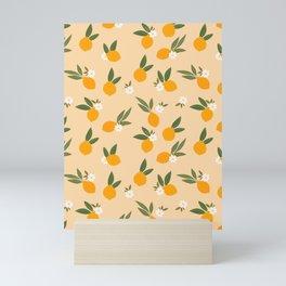 Cute Oranges Mini Art Print