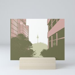 Seoul Tower Mini Art Print