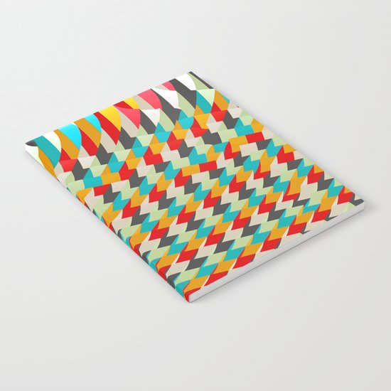 triangle color 4 Notebook