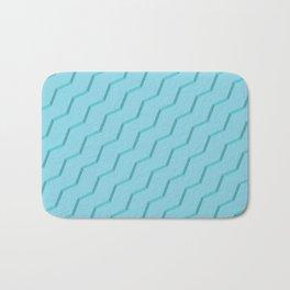 Blue Strokes Bath Mat