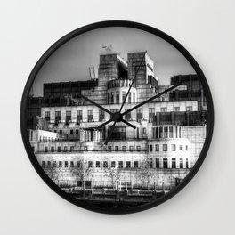 SIS Secret Service Building London Wall Clock