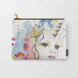Unicorn Woman Carry-All Pouch