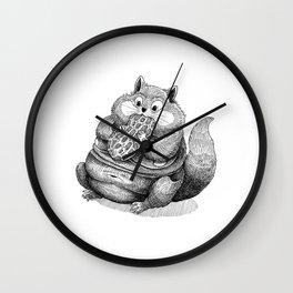 Fat Hamster Wall Clock