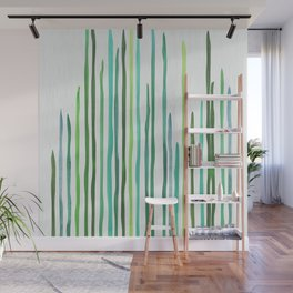 Under The Sea - abstract botanical Wall Mural