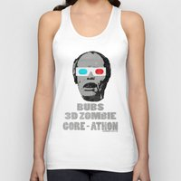 gore Tank Tops featuring Bubs 3D Zombie Gore-athon by Iamzombieteeth Clothing