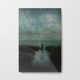 Stars in the Night Sky Metal Print