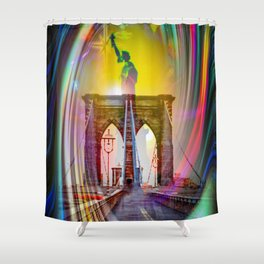 New York NYC Shower Curtain