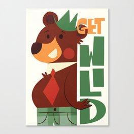 Get wild! Canvas Print