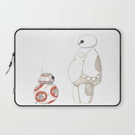 BB8 Meets Baymax Laptop Sleeve