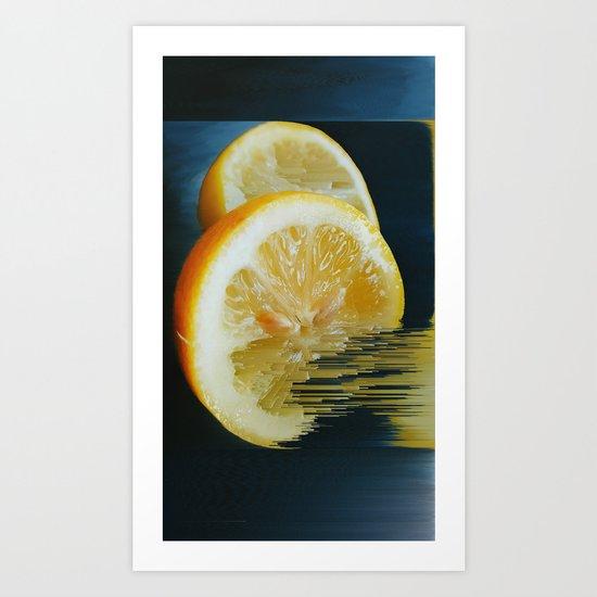 Lemony Good V.2 Art Print