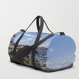 Annisquam Lighthouse afternoon Duffle Bag