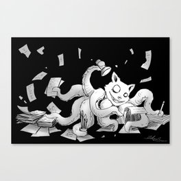 Inspiration Monster Canvas Print
