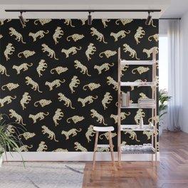 Leopard at Night Wall Mural