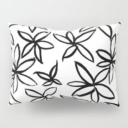 Big Floral Pillow Sham