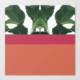 Color Tree Trio Canvas Print