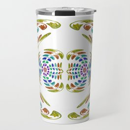 Wings yellow Travel Mug