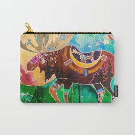 Fantastic Moose - Animal - by LiliFlore Carry-All Pouch