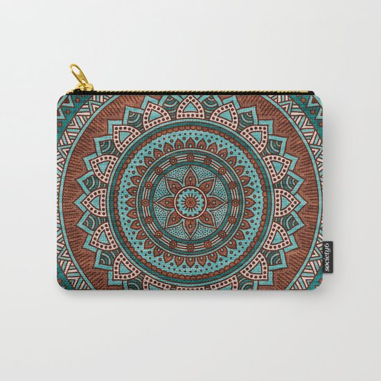 Hippie mandala 50 Carry-All Pouch