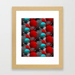 3D abstraction -27- Framed Art Print