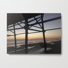 Sunset at Wrightsville Beach Metal Print
