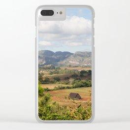 Cuban Landscape Clear iPhone Case