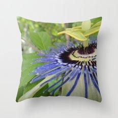 Passiflora Throw Pillow