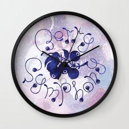 Berry symphony Wall Clock