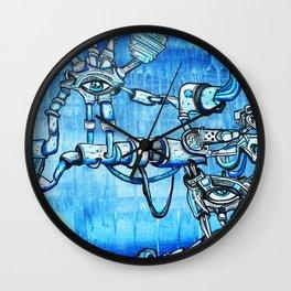 Underground Droids Wall Clock