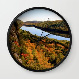 Autumn Splendor Wall Clock