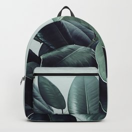 Ficus Elastica #22 #LightGreen #foliage #decor #art #society6 Backpack