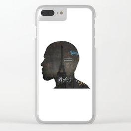niggas in paris Clear iPhone Case