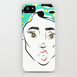 Scarf Beauty iPhone Case