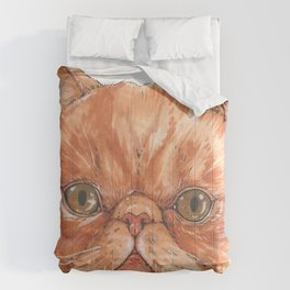Betty aka The Snappy Cat- artist Ellie Hoult Comforters