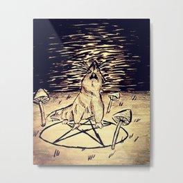 The mighty rat Metal Print